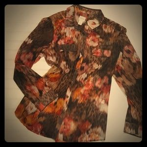 💛Chico's Sheer Blouse